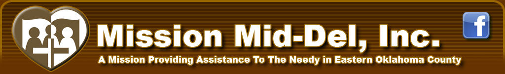 Mission Mid-Del, Inc. - Providing assistance and community support in eastern Oklahoma.